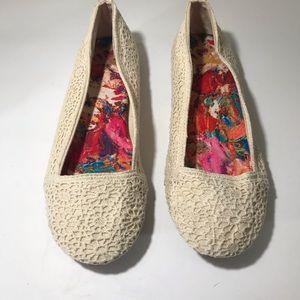 Fergalicious Crochet Flats